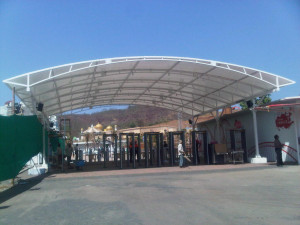 TENSILE FABRIC SHELTER