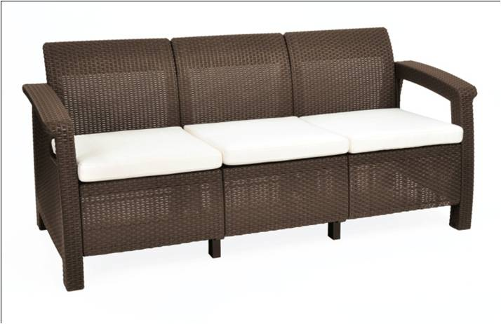 Garden furniture patio furniture saflow products pvt ltd for Sofa exterior pvc