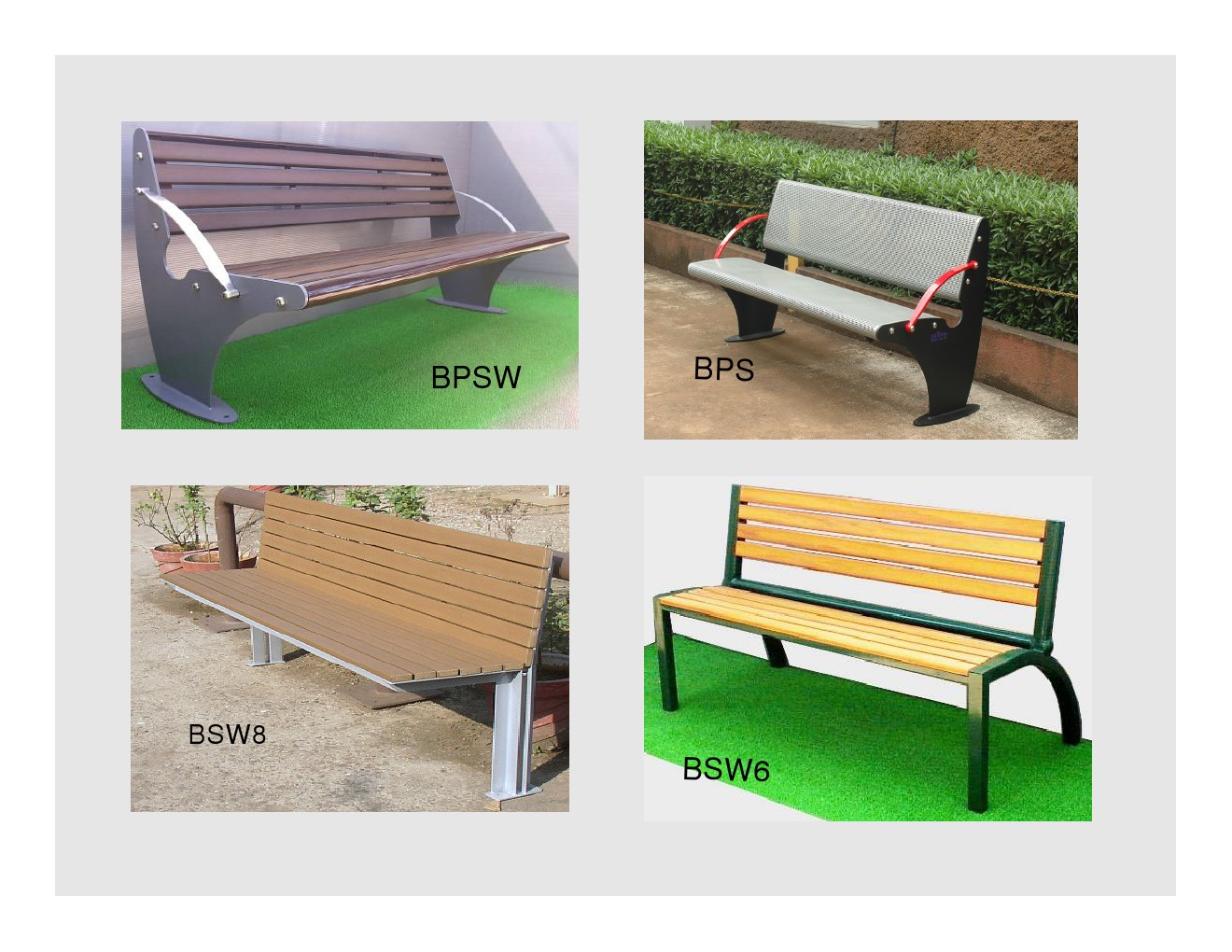 Benches For Garden & Parks