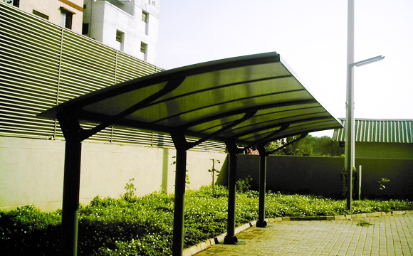 Bus Shelters, Car Shelters. Shelters