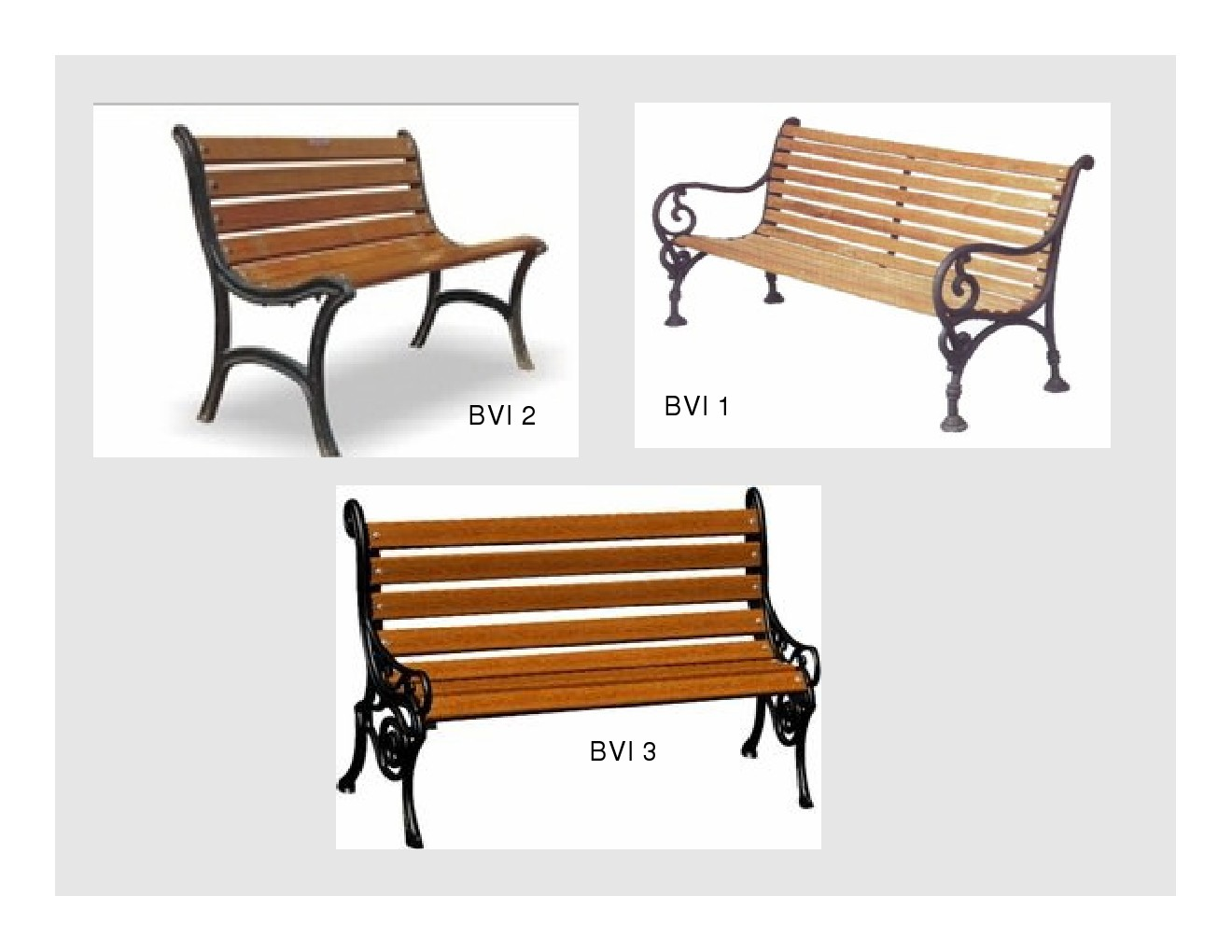 VICTORIAN BENCHES/ CLASSIC BENCHES